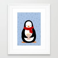 chill Framed Art Prints featuring Chill by roololoo