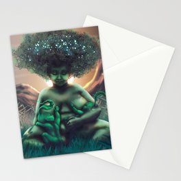 Mother Baobab Stationery Cards
