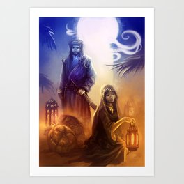 Arabian fantasy Art Print