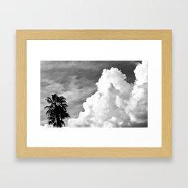 Cloud Beach Framed Art Print