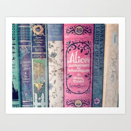 A Perfect Library photo Art Print