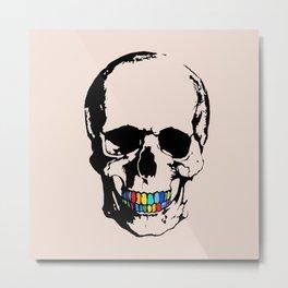 Trap Skull Metal Print