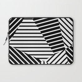 Abstract Striped Triangles Laptop Sleeve