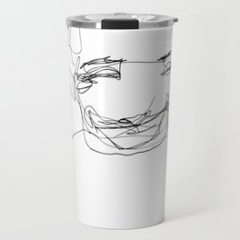 He was in such a great mood today Travel Mug