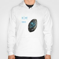 warcraft Hoodies featuring Home is where the hearth is. by pixel.pwn | AK