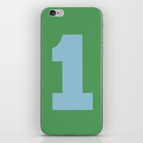 Number 1 iPhone & iPod Skin