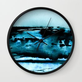 marine luminescence Wall Clock