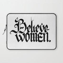 Believe Women Laptop Sleeve