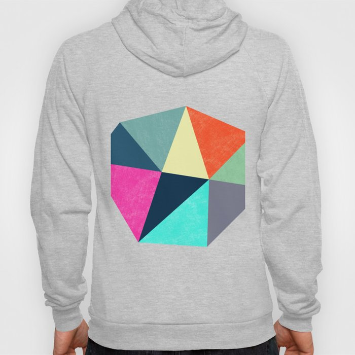 Abstract Diamond Shapes Hoody