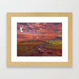 Heaven or Hell Framed Art Print