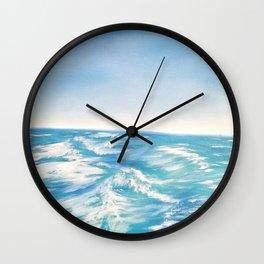 Gentle Waves Wall Clock
