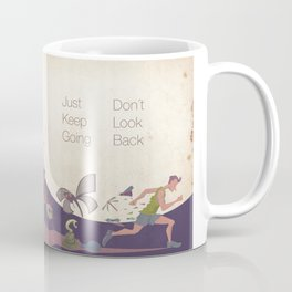 Just keep going Coffee Mug