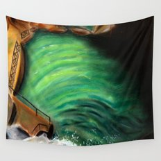 Over the falls Wall Tapestry