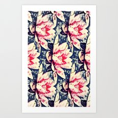 Lotus Flowers - for iphone Art Print