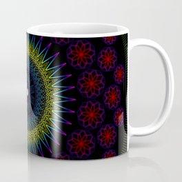 Chrysanthemum Kaleidoscope Coffee Mug