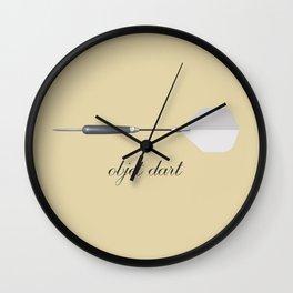 Objet Dart Wall Clock