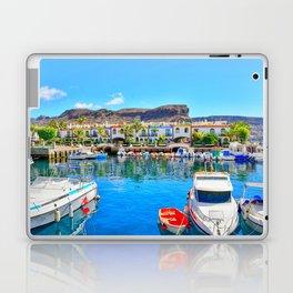 Puerto de Mogan port Laptop & iPad Skin