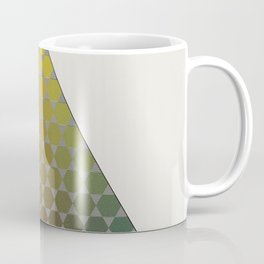 Lichtenberg-Mayer Colour Triangle vintage remake, based on Mayers' original idea and illustration Coffee Mug