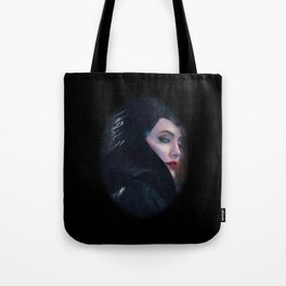 Maleficent in Oil / Sleeping Beauty Tote Bag
