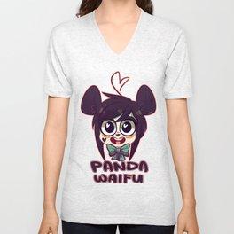 Panda Waifu Unisex V-Neck