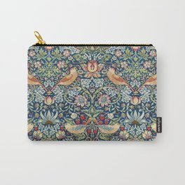 Strawberry Thief by William Morris, 1883 Carry-All Pouch