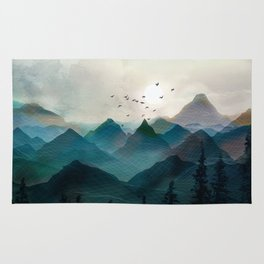 Mountain Sunrise II Rug