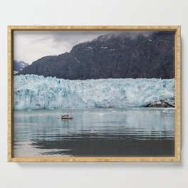 Margerie Glacier Serving Tray