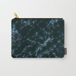 Abstract geometrical pattern Carry-All Pouch