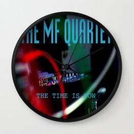 The MF Quartet Vinyl Cover Wall Clock
