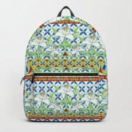Extravagant Elizabethan Folkloric Lily Backpack