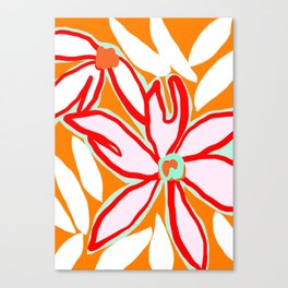 Flowers in July ii Canvas Print