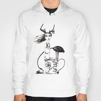 alice wonderland Hoodies featuring Wonderland by lesinfin