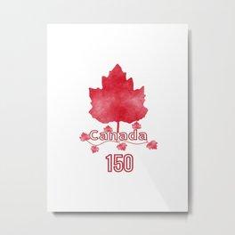 Canada 150 Metal Print