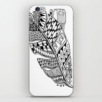 writer iPhone & iPod Skins featuring Writer Love by Vermont Greetings