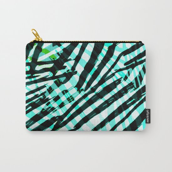 cyan confusion Carry-All Pouch