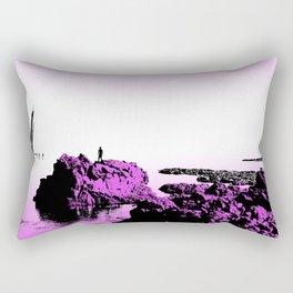 Crash on the Horizon Rectangular Pillow