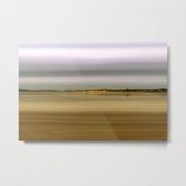 Wet Sand Metal Print