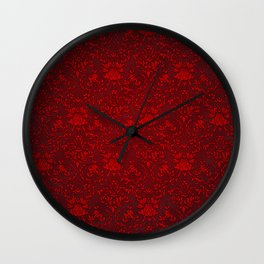 Victorian Blood Wall Clock