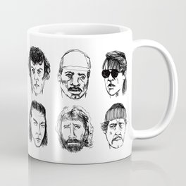 80s Action Stars Coffee Mug