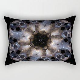 Galaxy mandala #4 Rectangular Pillow