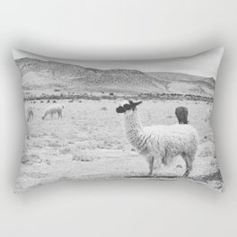 LLAMAS / Tupiza, Bolivia Rectangular Pillow