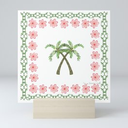 A Pair of Palm Trees   Mini Art Print