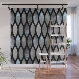 Silver Scales Wall Mural