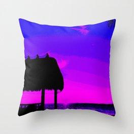 Florida Keys Sunset PA2 Throw Pillow