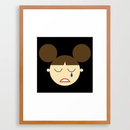Princess Leia (by Disney) Framed Art Print