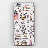 perfume iPhone & iPod Skins featuring Perfume  by Maddy Vian