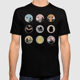 SANA BAKKOUSH: A MINIMALIST STORY T-shirt