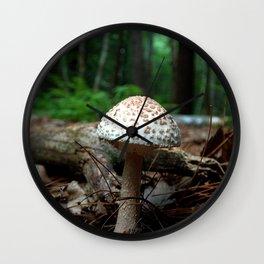 Mushroom T Wall Clock