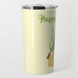 Wish You a Very Joyful Sukkot Travel Mug