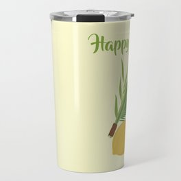 Wish You a Very Joyful Sukkot Travel Mug